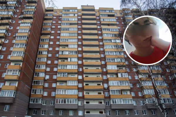 Алину нашли под окнами этого дома. В январе тут же погибли две её подруги