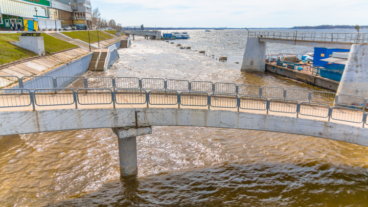 В Самаре на речной вокзал не будут пускать без защитных масок и с температурой выше 37,2