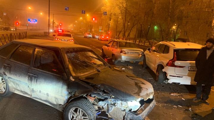В Самаре предполагаемый виновник пьяного ДТП на Гагарина сбежал из больницы