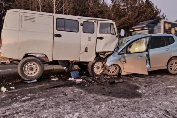 Водитель на «Хонде» стал обгонять на разрешенном участке