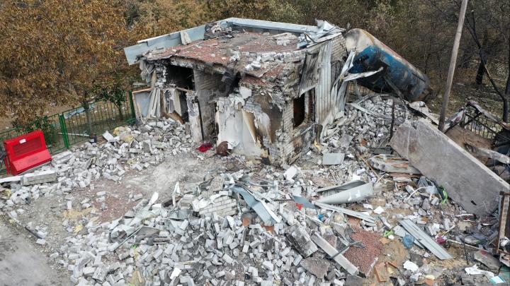 В Волгограде восстановят взорвавшуюся автозаправочную станцию