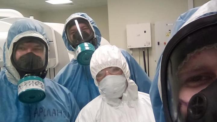 Доктор-блогер клиники при БГМУ рассказал о состоянии пациентов, которые находятся на ИВЛ
