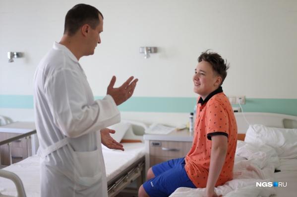 Валерий Косицын перестал чувствовать боль уже после операции