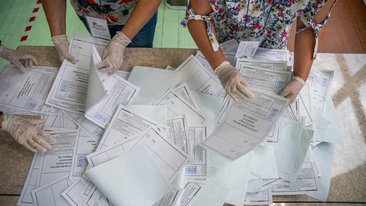 Как проголосовала Новосибирская область. Результаты обработки первых бюллетеней (пока всё предсказуемо)
