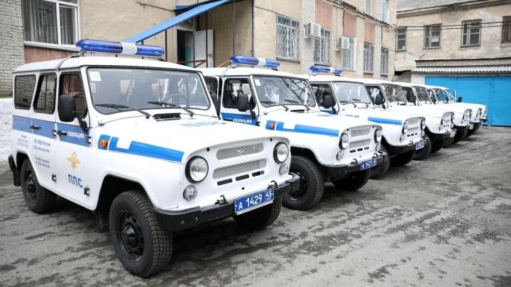 В Зауралье полицейские получили новые автомобили
