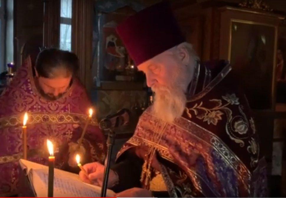 Кадр из видео в YouTube на канале&nbsp;<p>храма Рождества Пресвятой Богородицы в Крылатском<br></p>