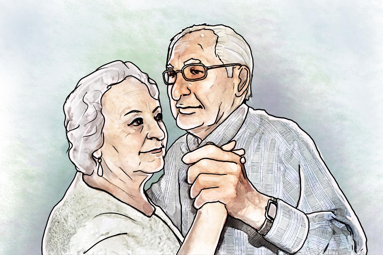 Влюбиться и порхать можно, даже если тебе чуть-чуть за 70