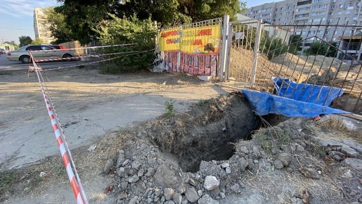 Пиротехники обезвредили бомбу, найденную в центре Волгограда