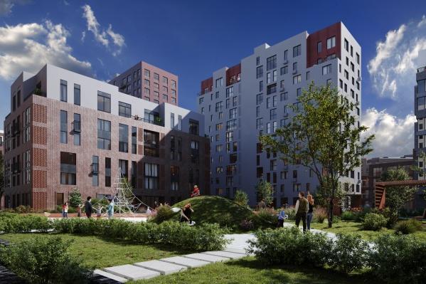 По задумке девелопера все дома будут отличаться друг от друга архитектурным исполнением