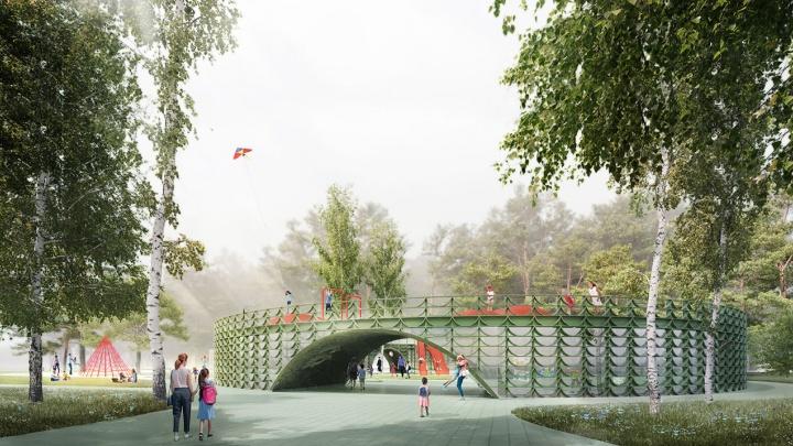 За реконструкцией парка «Швейцария» можно будет следить онлайн на новом сайте