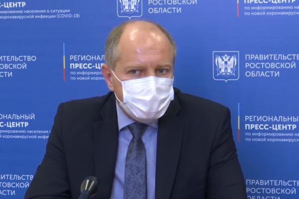 Карпущенко возглавляет референс-центр, который имеет право подтверждать результаты тестов, которые проходили в других лабораториях