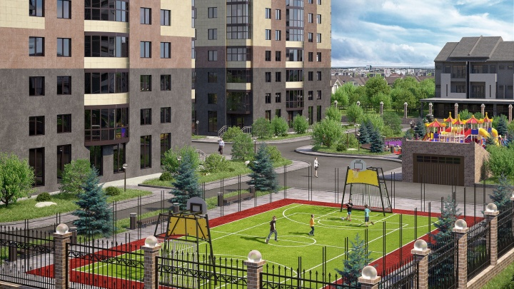 Квартиры в ЖК комфорт-класса продают в ипотеку под 0,1%: есть подземный паркинг и 2 станции метро