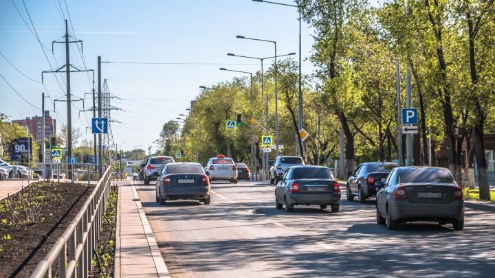 В Самаре отключат светофор около Загородного парка
