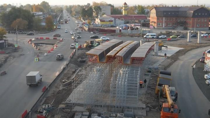 На второй очереди Самарского (Фрунзенского) моста начали монтировать пролёты