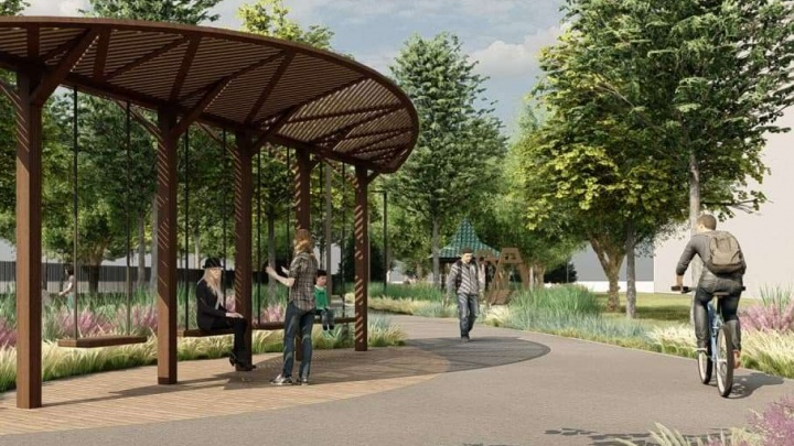В центре Челябинска сделают новую прогулочную зону, она пройдет по периметру парка Пушкина