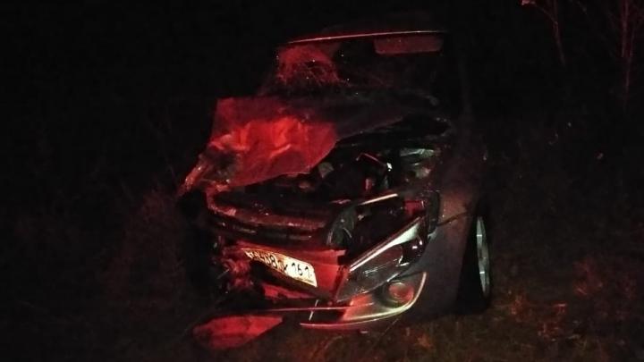В Ростовской области лоб в лоб столкнулись две легковушки. Есть погибшая
