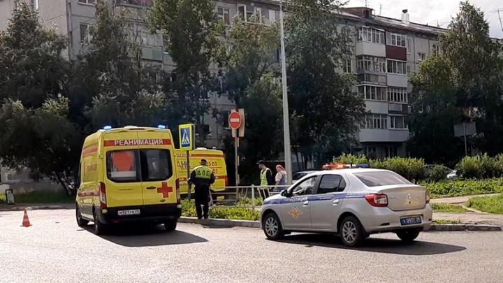 В Архангельске иномарка сбила на «зебре» мальчика на роликах