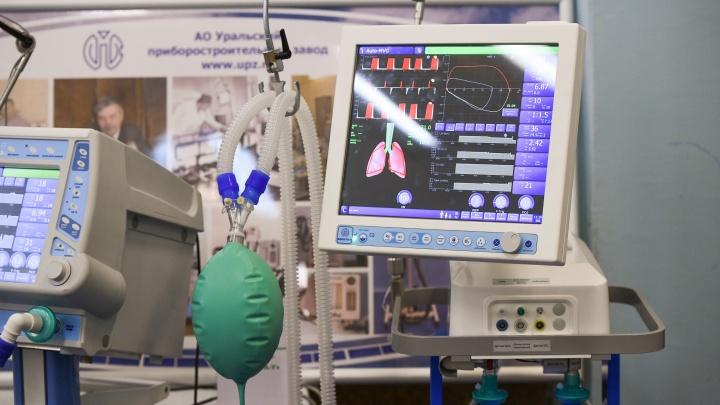 В питерской больнице загорелся аппарат ИВЛ. Партию приборов поставлял туда уральский завод
