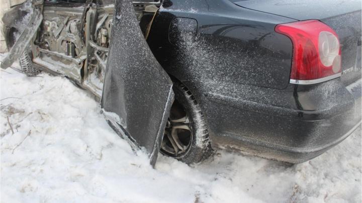 В Кургане водитель ВАЗа устроил ДТП с пострадавшим и скрылся