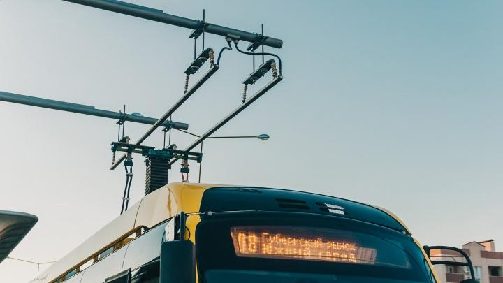 В Самаре сняли с маршрута электробус до Южного города