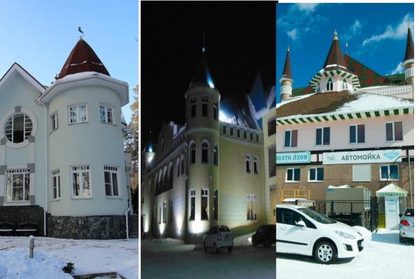 Такие замки можно встретить в Екатеринбурге и окрестностях
