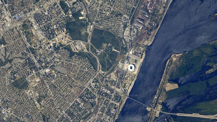 «Мы даже свои дома рассмотрели»: центр Волгограда сфотографировали с борта МКС