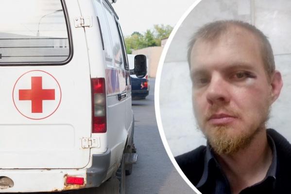 Алексей Барабошкин утверждает, что на него внезапно напали минимум двое неизвестных