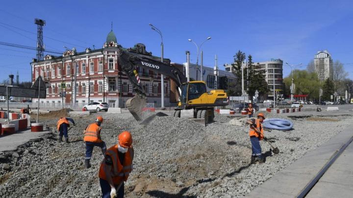В Перми возобновили реконструкцию улицы Революции