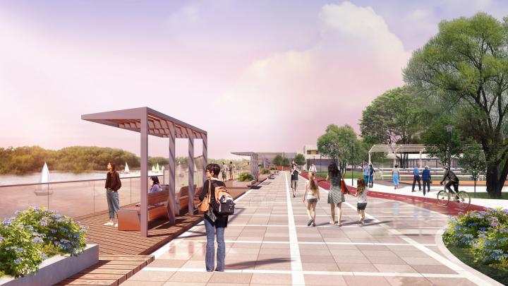 Подвесной мост, трековый каток и парковка: что может случиться с «Зелёным островом»