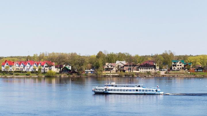 В Ярославле вырастет плата за проезд на речных трамвайчиках