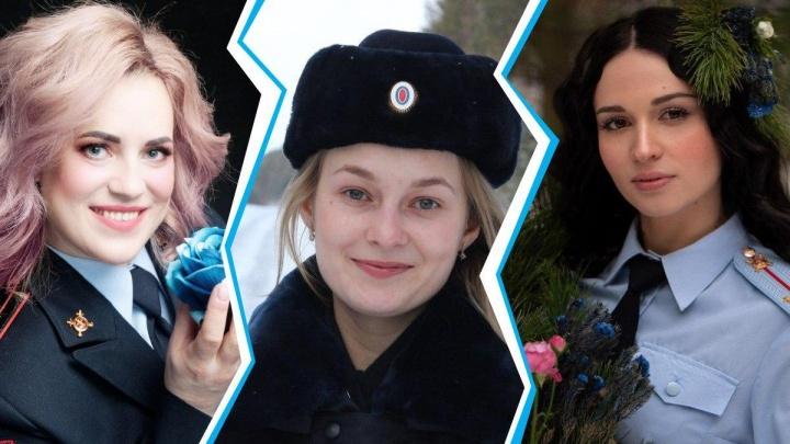 Очарование в погонах: смотрим на самых красивых полицейских Красноярского края