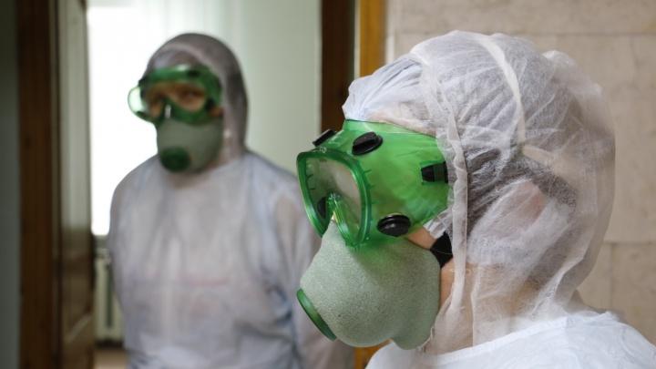 В Архангельской области 1353 пациента лечатся от коронавируса в стационаре