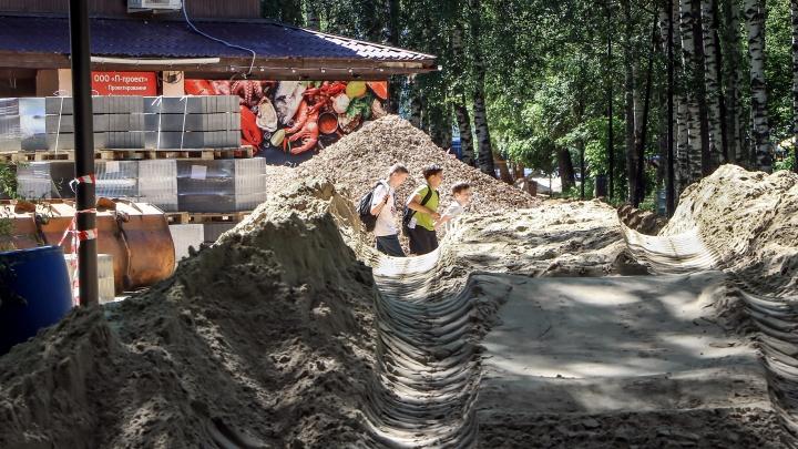 Парк Пушкина вновь перекопали: одна часть нижегородцев рада, другая — возмущена