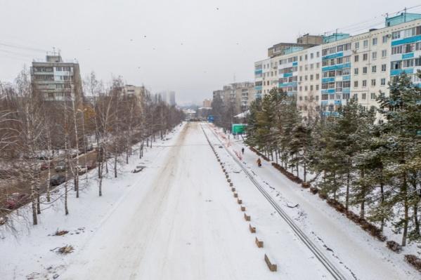Улицы Комсомольскую реконструируют два года