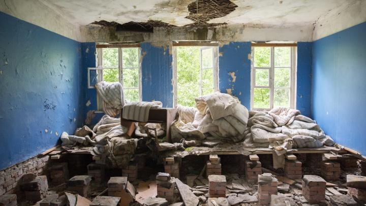 Повешенные куклы и выбитые стёкла: как выглядит заброшенный детский лагерь в Ярославской области