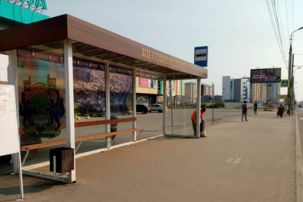 В Кургане в этом году установят десятки новых автобусных остановок