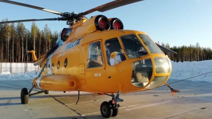 В Республике Коми обстреляли вертолёт, летевший на Шиес
