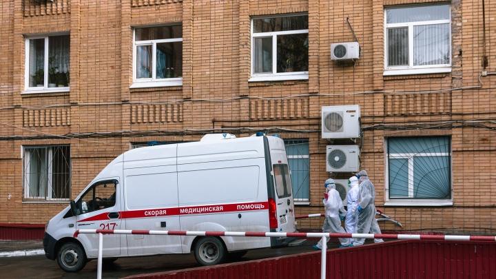 Число заразившихся коронавирусом на Южном Урале перевалило за отметку в 3200. Умерли ещё два пациента