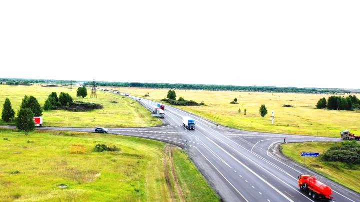 Подъезды к Омску на трёх трассах расширят до четырёх полос