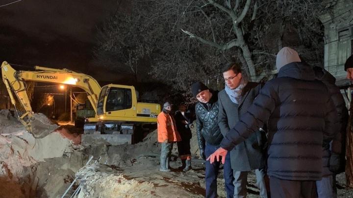 На Автозаводе произошла авария на коллекторе. Жители остались без воды