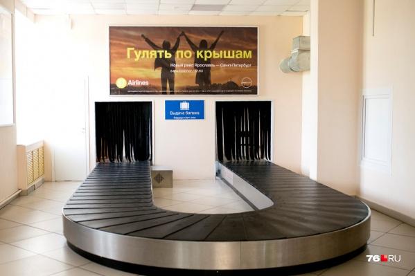 В аэропорту уточнили, что пассажиры сами должны обеспечить себя средствами защиты