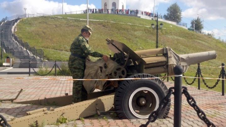 Отремонтирована и готова: где находится пушка с Караульной горы и почему ее не возвращают на место