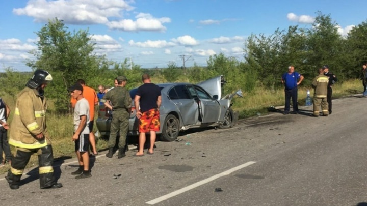 Появилось видео последствий ДТП с 5 погибшими в Самарской области