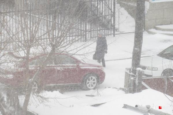 На Зауралье вновь надвигаются метели и снегопады