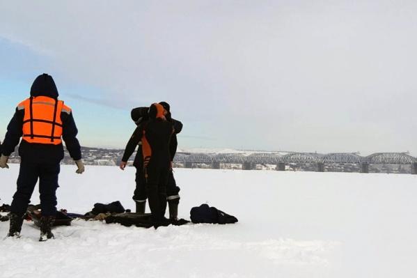 Мужчину искали водолазы поисково-спасательного отряда Сызрани