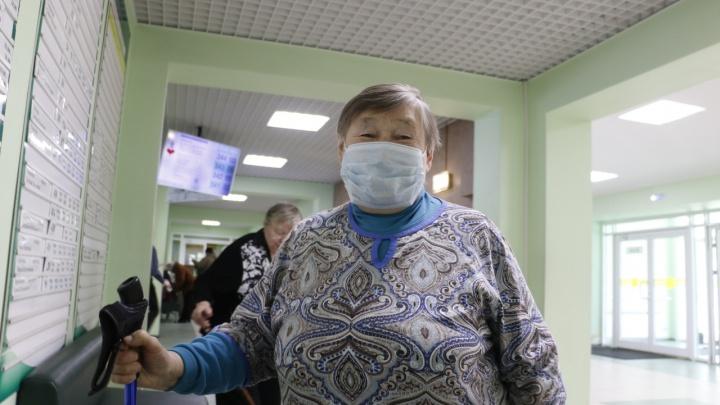 Северян, освобожденных от самоизоляции из-за коронавируса, стало больше
