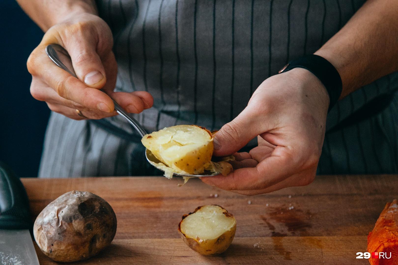 Печеный и отварной картофель — самые безопасные. Дальше пользы меньше, а вреда больше