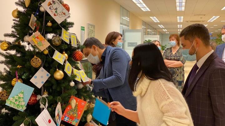 Сбербанк в Красноярске организовал «Ёлку доброты»