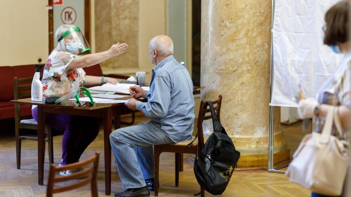 В двух районах Волгограда зафиксировали попытки повторного голосования по поправкам к Конституции