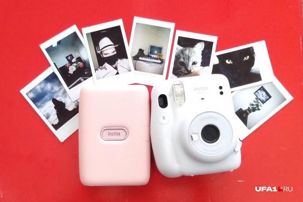Камера выдает крошечные фотографии, которые можно носить в кошельке